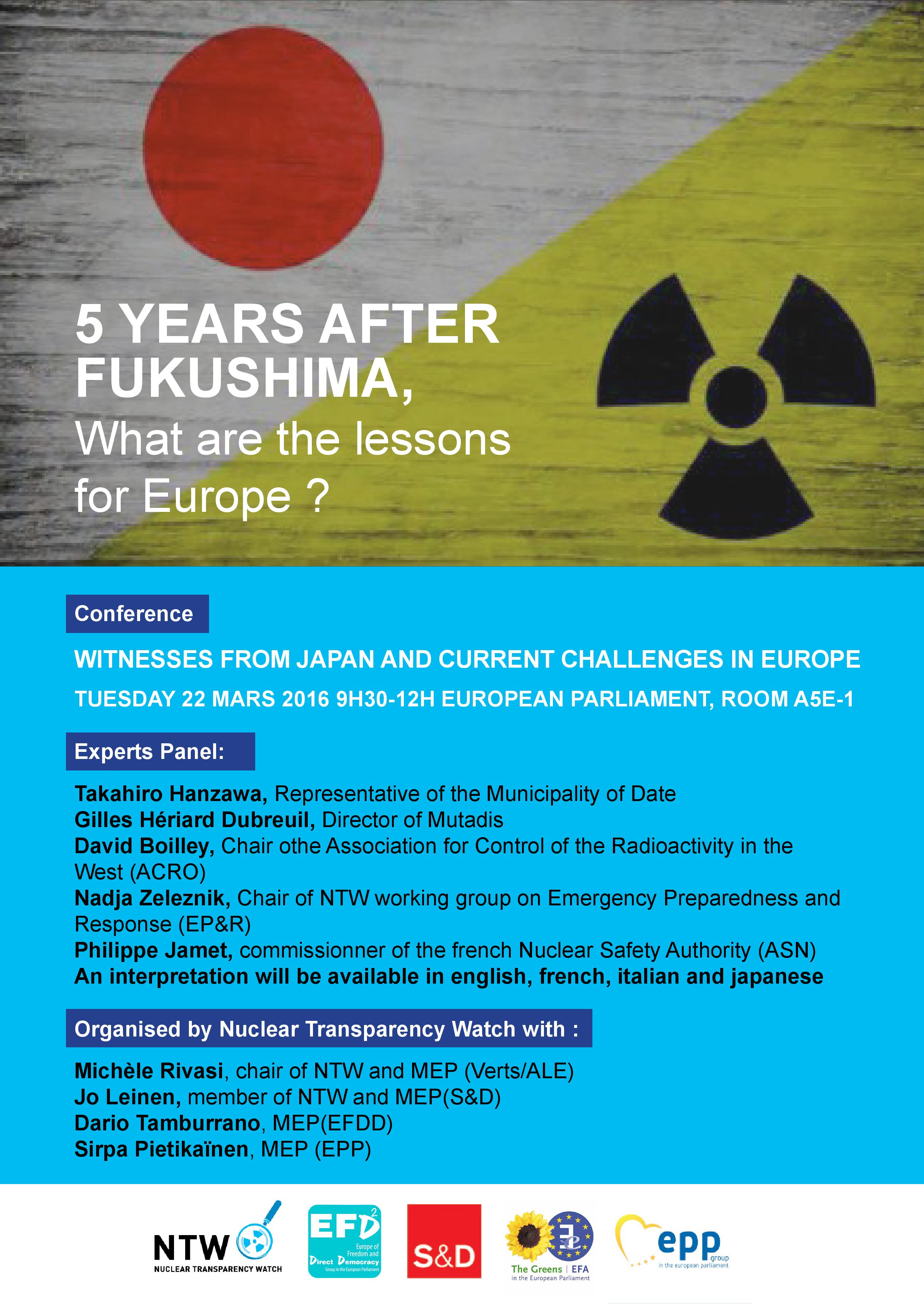 5 years after Fukushima Conference Poster-page-001